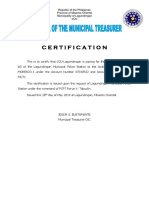 Electricity Certification