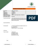 Format Resume Medis Silma Uni