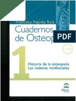 Cuadernos de Osteopatía Tomo 1 Historia