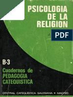 J. Milanesi. M. Aletti. Psicologia de La Religon.