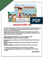 +++SIMULACRO DE SISMO-2019