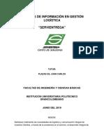 Primera Entrega Trabajo Colaborativo Grupo 9 Sistemas de Gestion Logistica