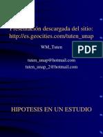 09.2 hipotesis