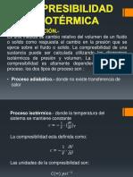 compresibilidad isotermica