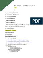 Temas a Desarrollarse en La Tesis o Trabajo de Grado (2)