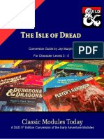 Classic Modules Today - X1 the Isle of Dread