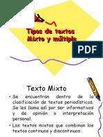 Texto Mixto y Multiple