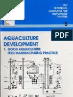 Good Aqua Feed Practice