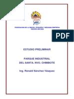Estudio Preleminar Parque Industrial Del Santa-2010