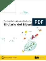 Proyecto Pequeños Periodistas en Acción-El Diario Del Bicentenario. Esc 19 de 5º