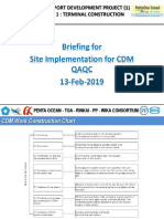 20190213 Site Implementation for QAQC r1