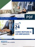 Sesion 24 Practicas Motivacionales