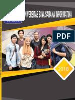 Pedoman Akademik Universitas Bina Sarana Informatika