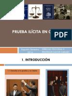 Prueba ilícita en el derecho chileno