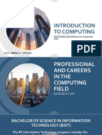 Introduction to Computing _ 01