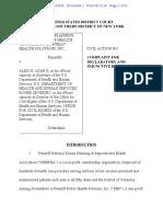 NFPRHA Complaint