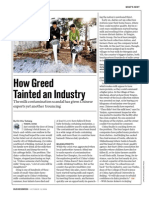 How Greed Tainted an Industry