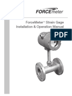 Niagara Force Meter Installation and Operation Manual