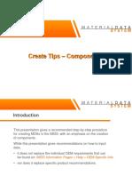 IMDS creation tips