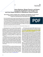 A Comparison of Gluteus Maximus, Biceps Femoris, And Vastus Lateralis Electromyography Amplitude in the Parallel, Full, And Front Squat Variations in Resistance-Trained Females