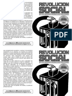 Revolución Social N°2 Publicación Anarquista Bahía Blanca Noviembre 2015