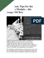 04-Develop Module – the Magic Alt Key