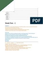 Goethe- B2- Model Paper- Solution- Schreiben