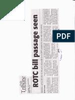 Daily Tribune, June 18, 2019, ROTC bill passage seen.pdf