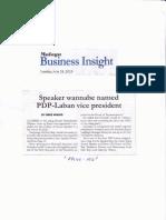 Malaya, June 18, 2019, Speaker wannabe named PDP laban vice president.pdf