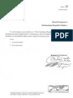 Hotarâre Privind Stabilirea Datei Alegerilor Locale în RM