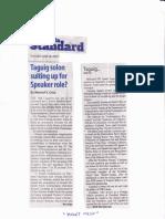Manila Standard, June 18, 2019, Taguig solon suiting up for Speaker role.pdf