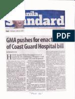Manila Standard, June 18. 2019, GMA pushes for enactment of Coast Guard Hospital bill.pdf