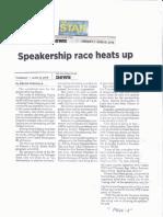 The Philippine Star, June 18, 2019, Speakership race heats up.pdf