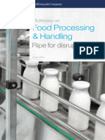 McKinsey on Food Processing and Handling Ripe for Disruption