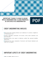 Underwriting ....PPT