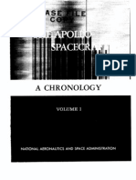The Apollo Spacecraft. Volume 1 - A Chronology From Origin to November 7, 1962