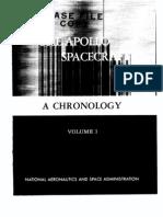 The Apollo Spacecraft. Volume 1 - A Chronology From Origin to November 7, 1962