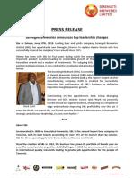 Press Release - SBL Leadership Changes - EnG