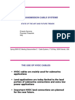 HVDC TRANSMISSION CABLE SYSTEMS