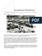 Deir Yassin Outrage Remembered - 9 April 1948