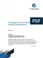 Privileged Account Security System Requirements