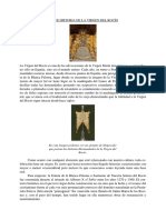 Breve Historia de La Virgen Del Rocío
