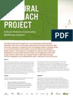 Rural Outreach Program Report