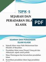 5. Sejarah Peradaban Islam Klasik