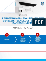 Pengembangan Manajemen SMK Berbasis TIK
