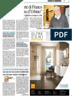 """Lutto per la morte di Franco, il """"cuoco romano di Urbino"""" - Il Resto del Carlino del 17 giugno 2019"""