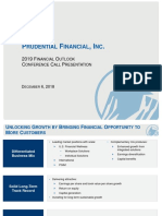 Prudential Financial Inc 2019 Financial Outlook Presentation Final