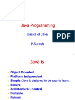 Basics of Java