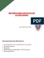 Metabolimo Hepatico de Protecinas