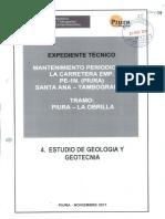 4 - Estudio de Geologia y Geotecnia